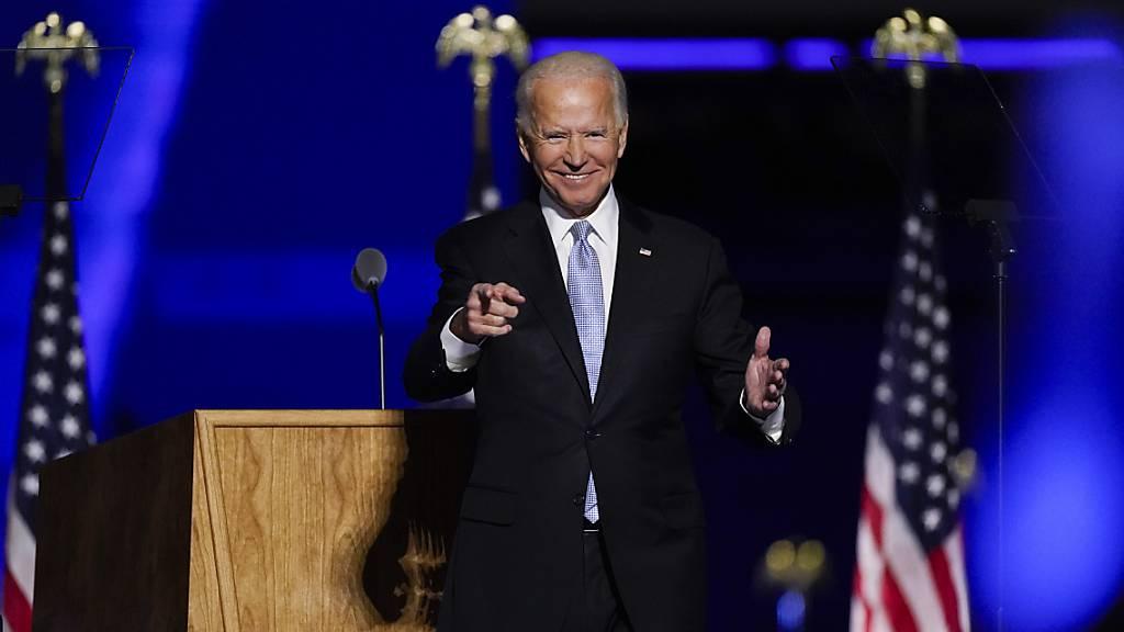 Biden geht an die Arbeit: Vorstellung von Corona-Expertenrat