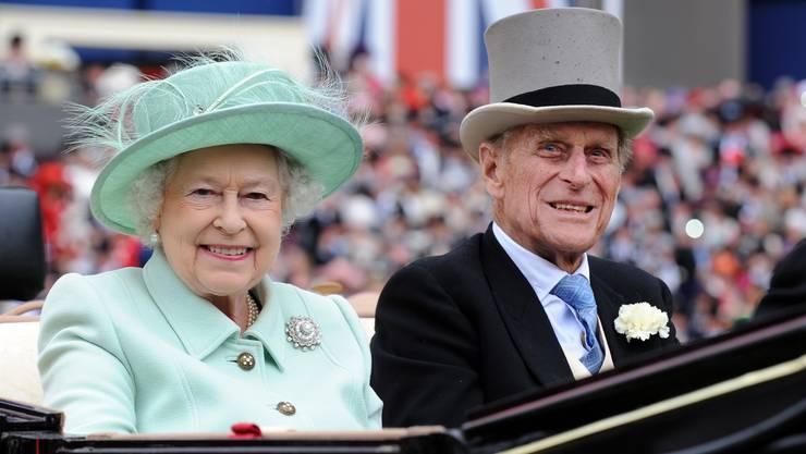 Seit 72 Jahren sind die Queen und Prinz Philip verheiratet.