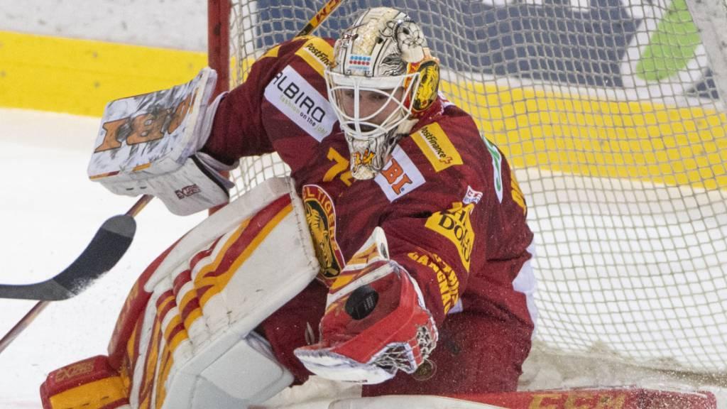 Bleibt eine weitere Saison ein Tiger: Goalie Ivars Punnenovs.