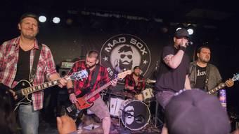 Die Metalcore-Band «Mad Sox» im Kofmehl