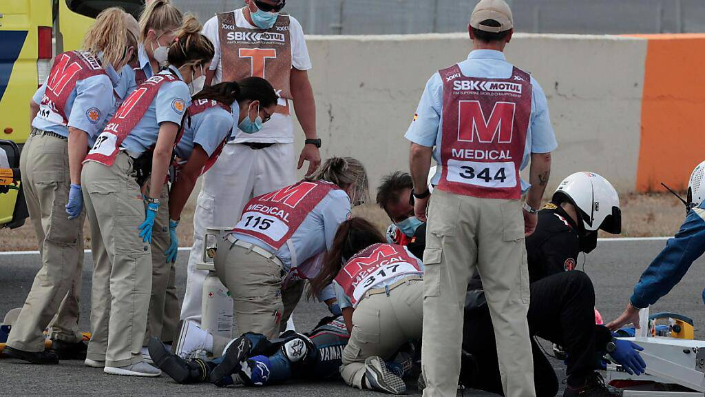 Trotz schnellem Handeln der Ärzte kam für Dean Berta Viñales (†) jede Hilfe zu spät