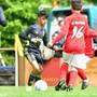 Training weiter erlaubt bis 16 Jahre. Damit das Kind einmal so gut wird wie der Sohn von Cristiano Ronaldo (Mitte)