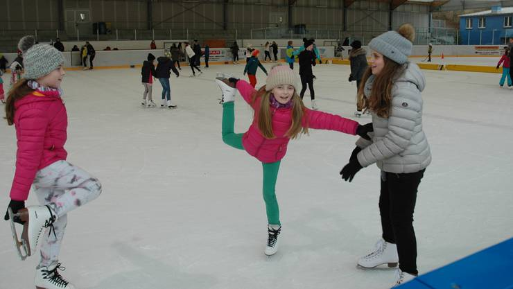 Eislaufen in Urdorf: Valentina kann schon bald zur Kür antreten