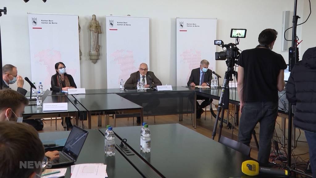 Kanton Bern verlängert Corona-Massnahmen bis am 7. Dezember