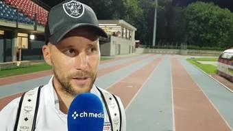 Neumayr im Interview nach der Niederlage gegen Chiasso.