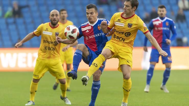 Für den FC Basel zählen gegen Xamax nur drei Punkte.