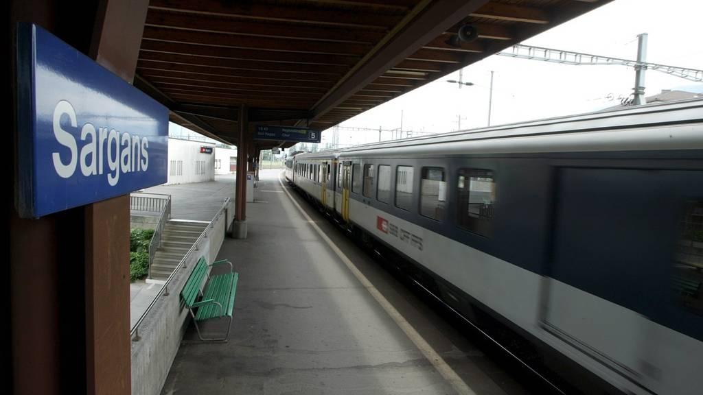 Sarganser Bahnhof-Party droht zu scheitern – wegen fehlender Testkapazitäten