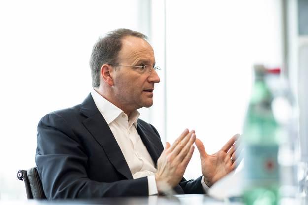 Kritik an der Konzerninitiative: Mark Schneider.