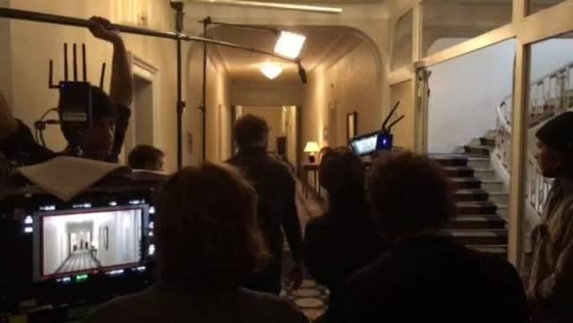 Eine Tatort-Szene mit Gubser und Mayer.