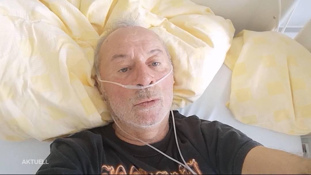 Prominente machen einem Solothurner Corona-Patienten Mut
