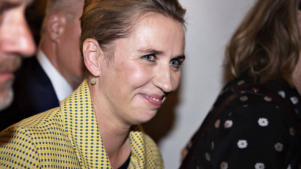 Die Sozialdemokratin Mette Frederiksen ist die zweite Frau, die Ministerpräsidentin Dänemarks wird. (Archivbild)