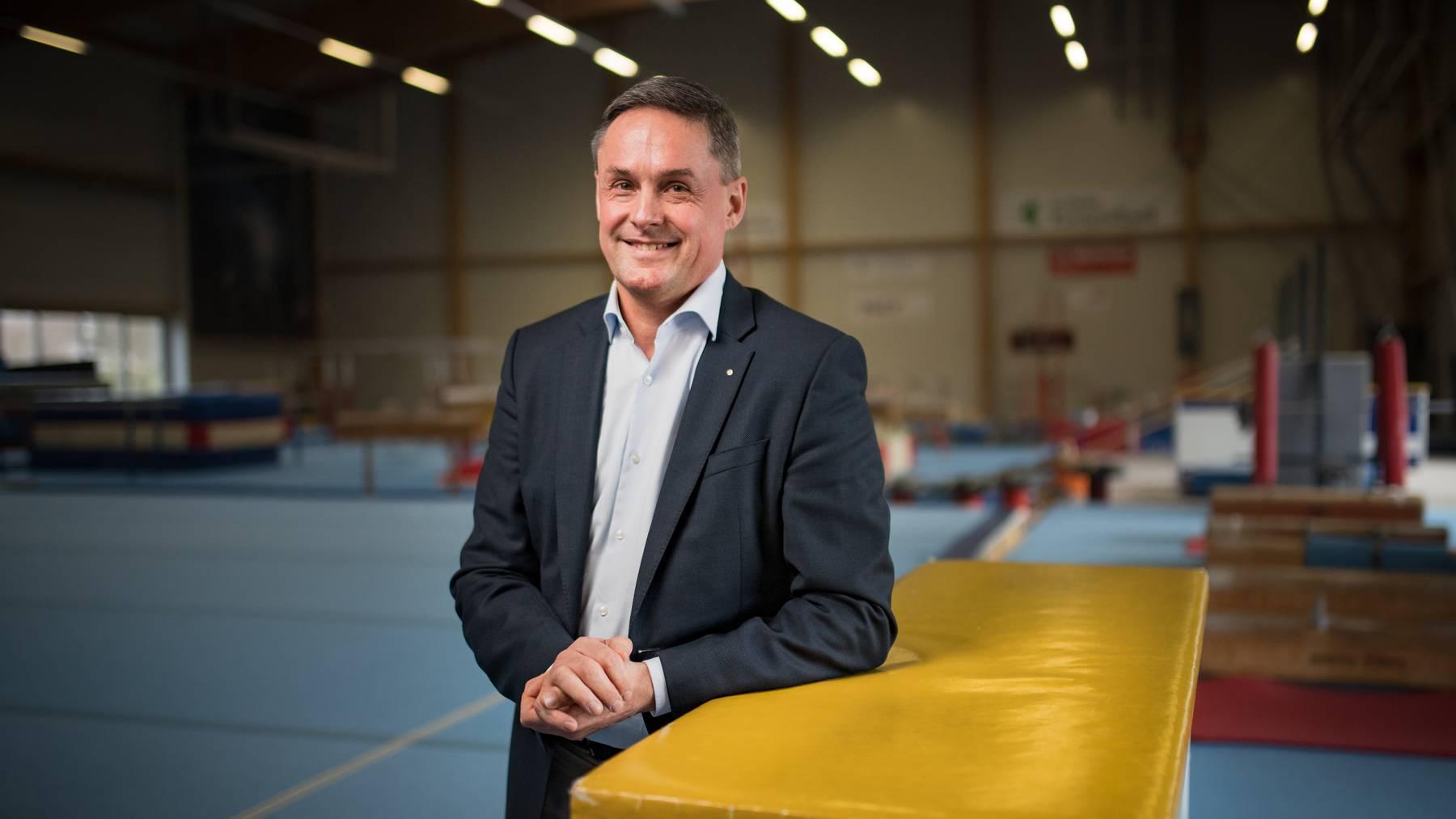 Alexander Bochier ist seit gut einem Jahr Präsident des RLZ Ostschweiz.