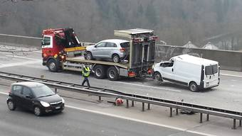 Fahrtauglich war Ejup Gashis Lieferwagen nach dem Unfall nicht mehr.