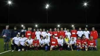 3:1-Sieg: AZ-Medien-Journalisten spielten in der Arena Thun gegen den FC Nationalrat