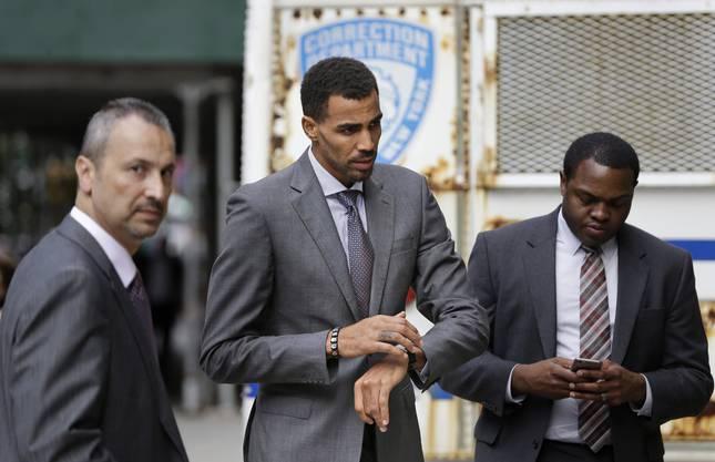 Thabo Sefolosha vor dem Geschworenengericht in New York