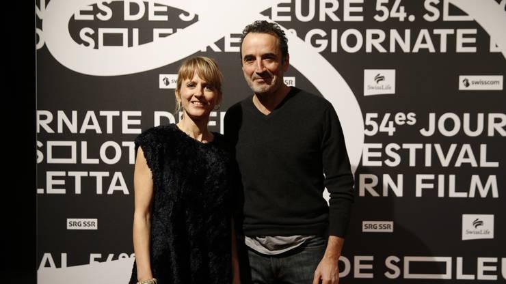 Seraina Rohrer ist von Bruno Todeschini beeindruckt.