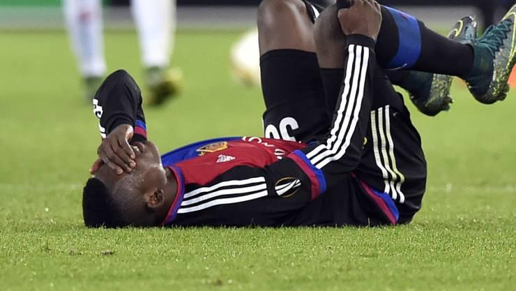 Breel Embolo fiel in der zweiten Halbzeit verletzt aus