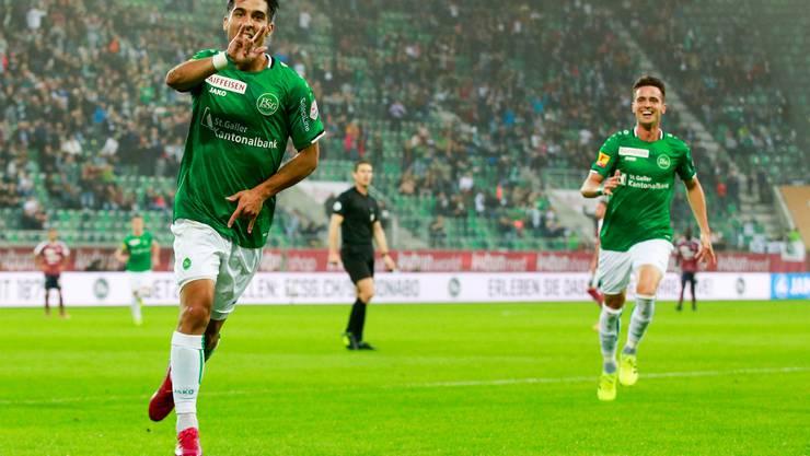 Überrascht derzeit positiv in der Ostschweiz: Victor Ruiz.
