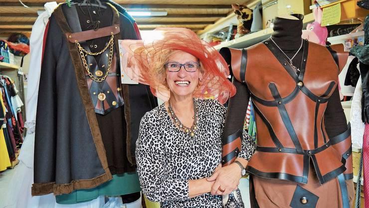 Rita Schuler hat in Boswil so gut wie alles, was es für einen gelungenen Fasnachtsanlass braucht.