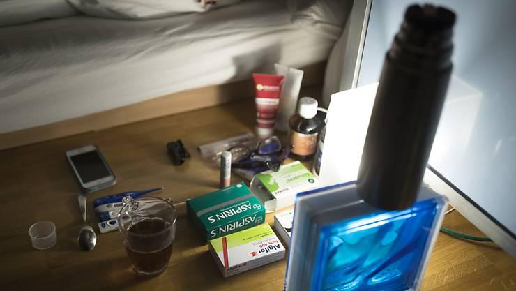 In der Schweiz werden derzeit viele Menschen von der Grippe geplagt. Besonders Kinder sind betroffen. (Symbolbild)