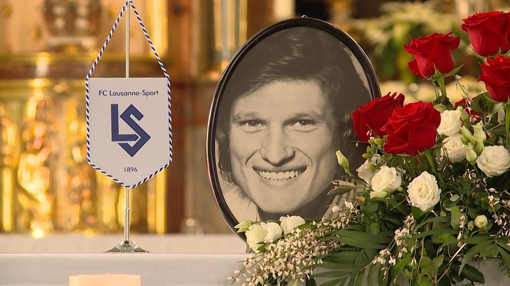 Emotionaler Abschied: Hier trauert Monika Kälin um ihr «Schätzi» Fritz