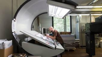 Besuch in der Druckerei J.E. Wolfensberger in Birmensdorf LiZ