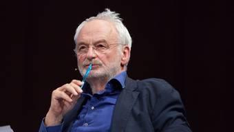 Journalist, Buchautor und Marx-Kenner Matthias Greffrath. S. Engelhardt