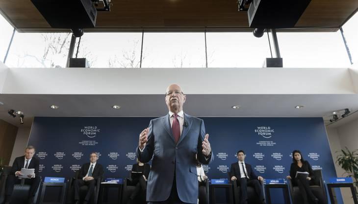 Klaus Schwab, Präsident und Gründer des WEF.