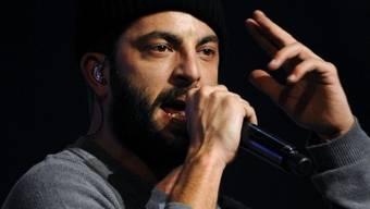 Bligg bei seinem Auftritt an den Swiss Music Awards im März 2011 in Zürich (Archiv)