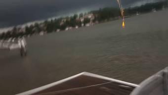 Achtung: Dieser Blitzschlag könne auch Sie erschrecken ...