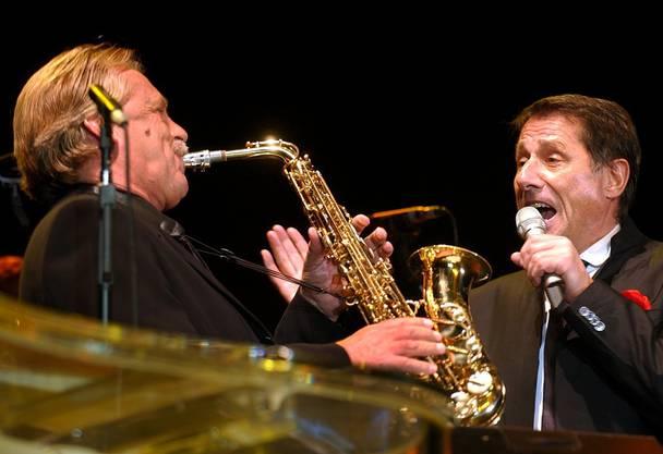 Mit Udo Jürgens auf der Bühne