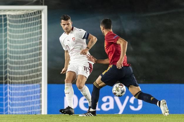 Hat es nicht einfach, das Schweizer Spiel zu koordinieren.