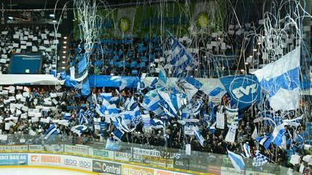EVZ-Fans in der Bossard-Arena