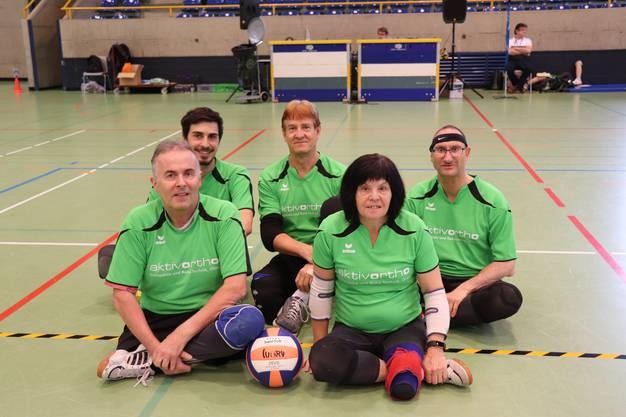 Von Links vorne: Marcel Ragaz, Agnes Hubeli Von Links Hinten: Jonas Zimmerli, Urs Ramel, Paul Probst
