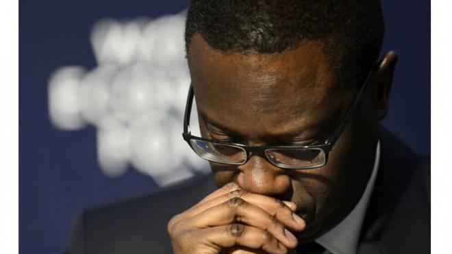 Nach nur einem Jahr muss CS-Chef Tidjane Thiam seine Ziele nach unten korrigieren. Für etliche Beobachter sind sie immer noch zu hoch. Foto: Keystone