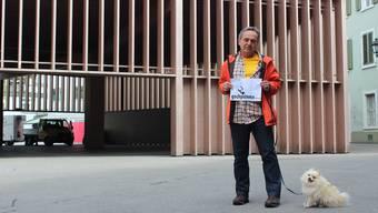 Peter Laely hat eine Petition gegen die Markthalle lanciert.