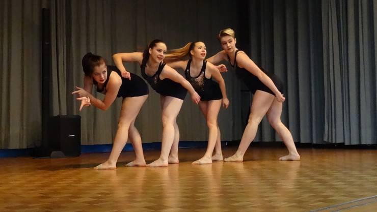 Jazztanzgruppe der Tanzschule DanceTown, Wettingen