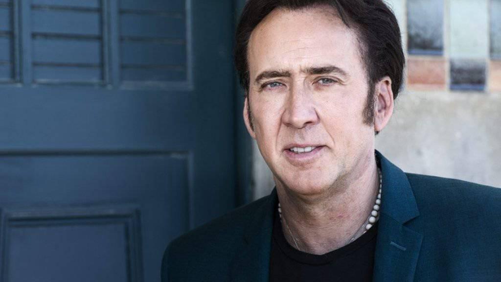 Nicolas Cage ist für sein soziales und humanitäres Engagement mit dem Deutschen Preis für Nachhaltigkeit ausgezeichnet worden (Archiv)