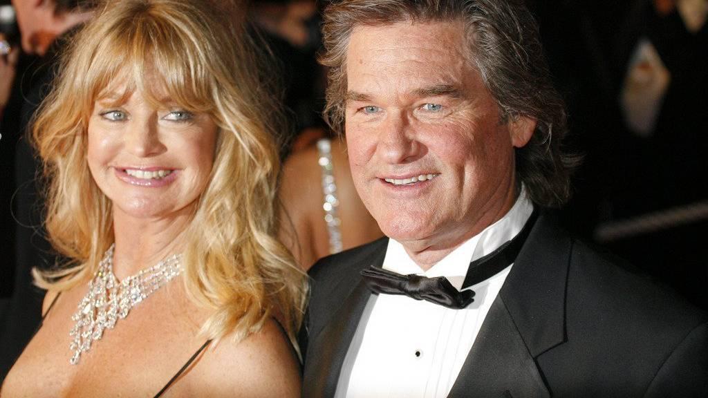 Goldie Hawn mit ihrem Lebensgefährten Kurt Russell.