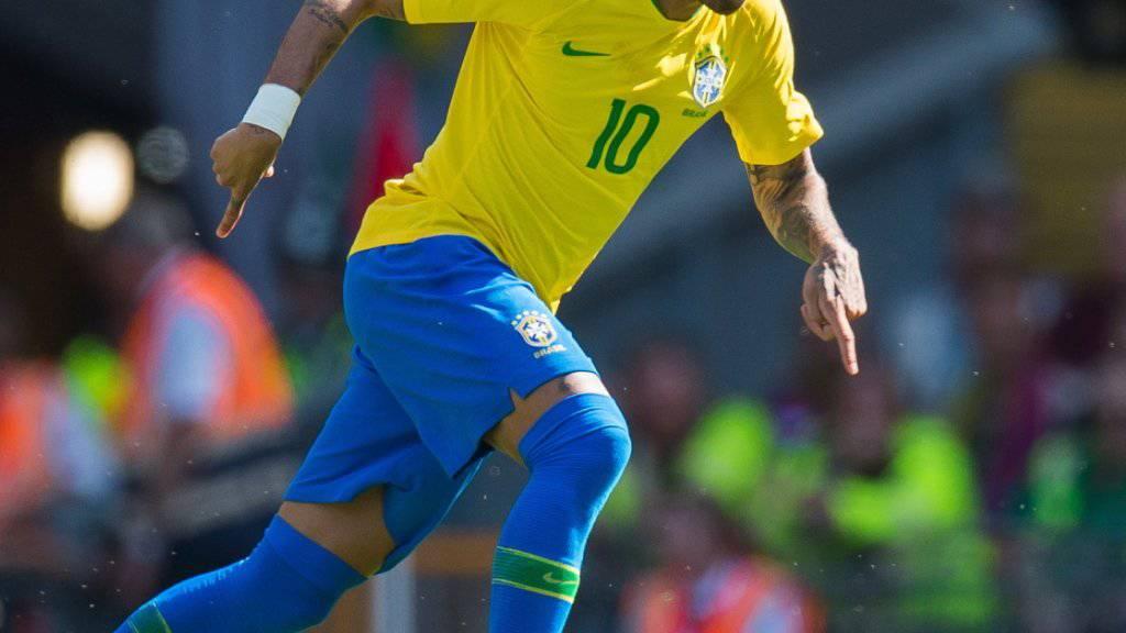 Neymar zeigte bei seinem Comeback eine starke Vorstellung