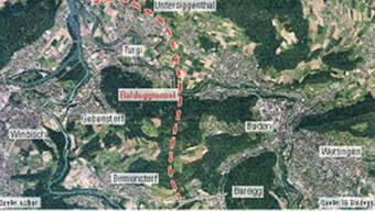 Der Baldeggtunnel soll das Untere Aaretal besser an das Nationalstrassennetz anschliessen. google