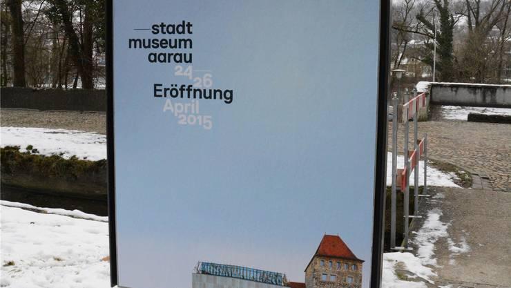 Das Plakat zur Museumseröffnung.