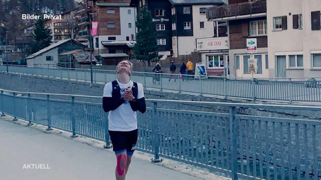 15-jähriger Solothurner Jogger ist in Zermatt angekommen