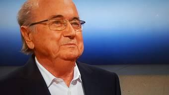 Blatter gab sich kämpferisch, wirkte aber gesundheitlich angeschlagen.