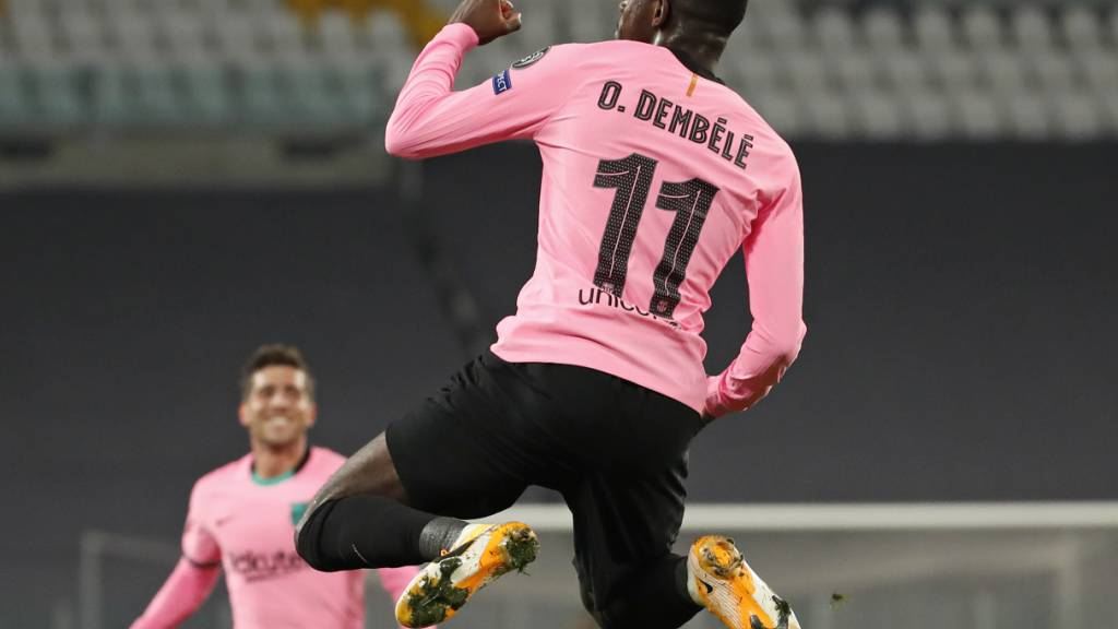 Ousmane Dembélé sorgt beim FC Barcelona für einen Stimmungsaufheller