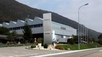 Ungewisse Zukunft für die Firma Steris in Pieterlen. Foto: Hanspeter Bärtschi