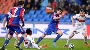 Der FC Basel und Valentin Stocker sind momentan nicht zu stoppen.