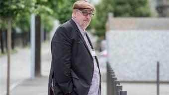 Dieter Behring im Juni 2016 vor dem Bundesstrafgericht in Bellinzona.Ti-Press/KEY