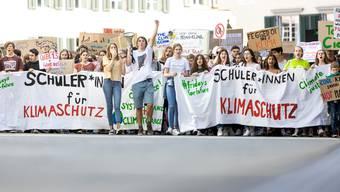 Klimastreik in Baden