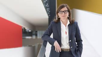 Seit Anfang September auf dem Chefsessel: Philomena Colatrella im Hauptsitz des Luzerner Krankenversicherers CSS.